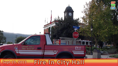 Arson Fire In City Hall