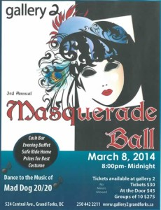 Masquerade Ball @ gallery 2 | Grand Forks | British Columbia | Canada