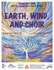 Earth, Wind and Choir @ GFSS Auditorium | Grand Forks | British Columbia | Canada