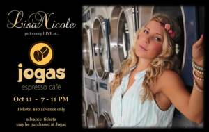 Lisa Nicole at Jogas @ Jogas Espresso Cafe | Grand Forks | British Columbia | Canada