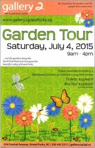 Garden Tour @ gallery 2 | Grand Forks | British Columbia | Canada
