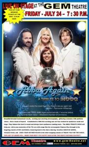 ABBA AGAIN @ GEM Theatre | Grand Forks | British Columbia | Canada
