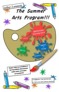Summer Arts Program @ gallery 2 | Grand Forks | British Columbia | Canada