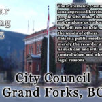 Council Meeting Nov 25, 2019