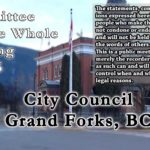 Council Meetings of Dec 16, 2019